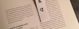 DIY magnetisk bogmærke