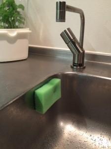 Svampen kan nu hænge frit